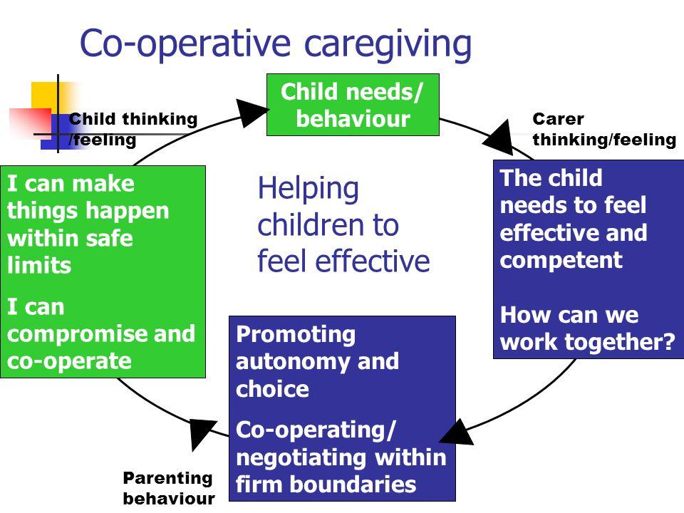Co-operative caregiving