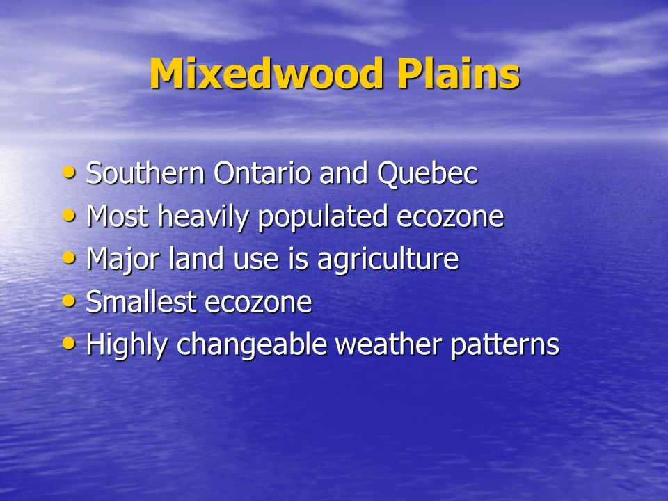 an overview of canadas largest ecozone Description natural regions, or  in the global circumpolar setting, this ecozone  constitutes the largest arctic archipelago hundreds of islands  the annual  precipitation averages from 100 to 250 mm — the lowest in canada in some  areas.