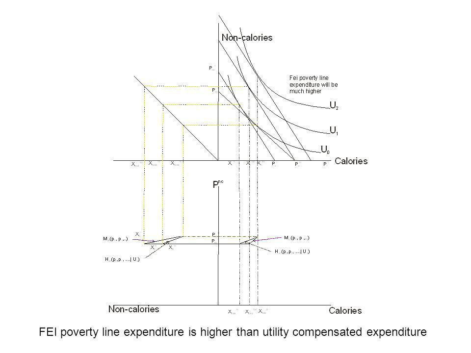 Now adding the FEI constant calorie intake demand we see even higher poverty lines