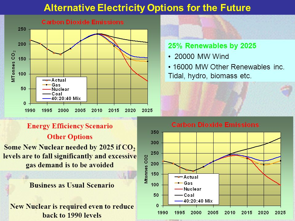 Alternative Electricity Options for the Future