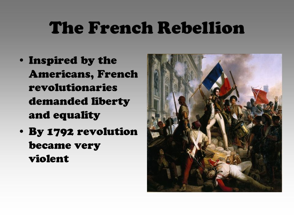 was that the french language war encouraged by just the particular u . s revolution