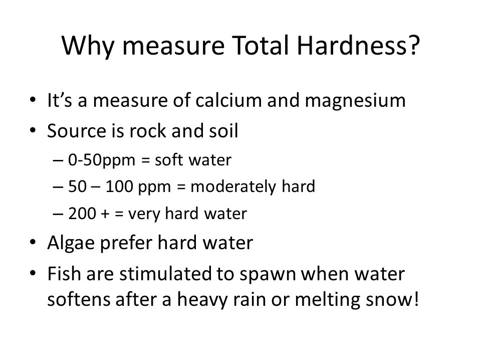Why measure Total Hardness