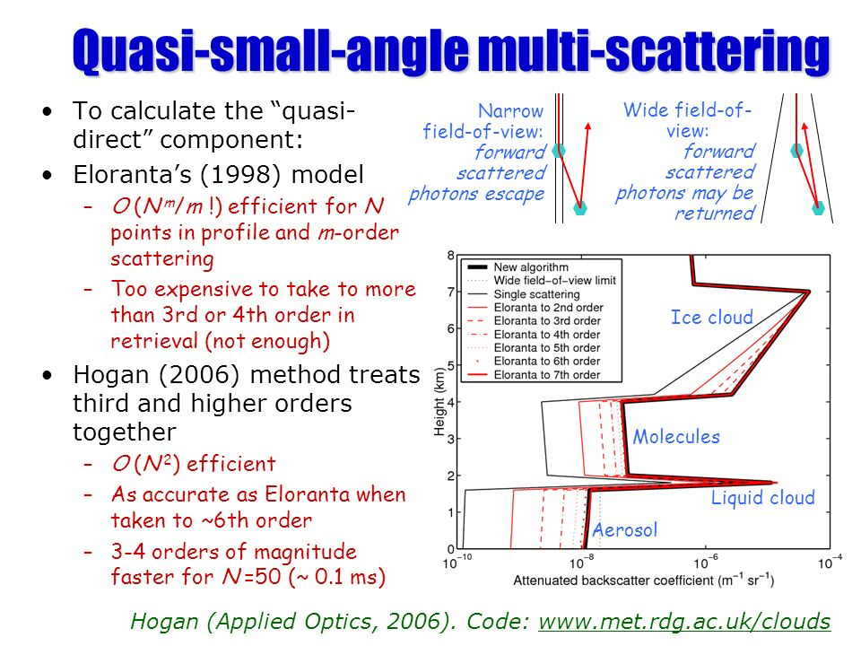 Quasi-small-angle multi-scattering