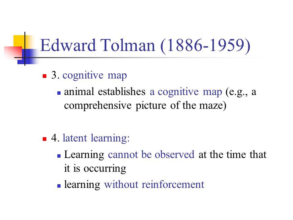 Edward Tolman Latent Learning
