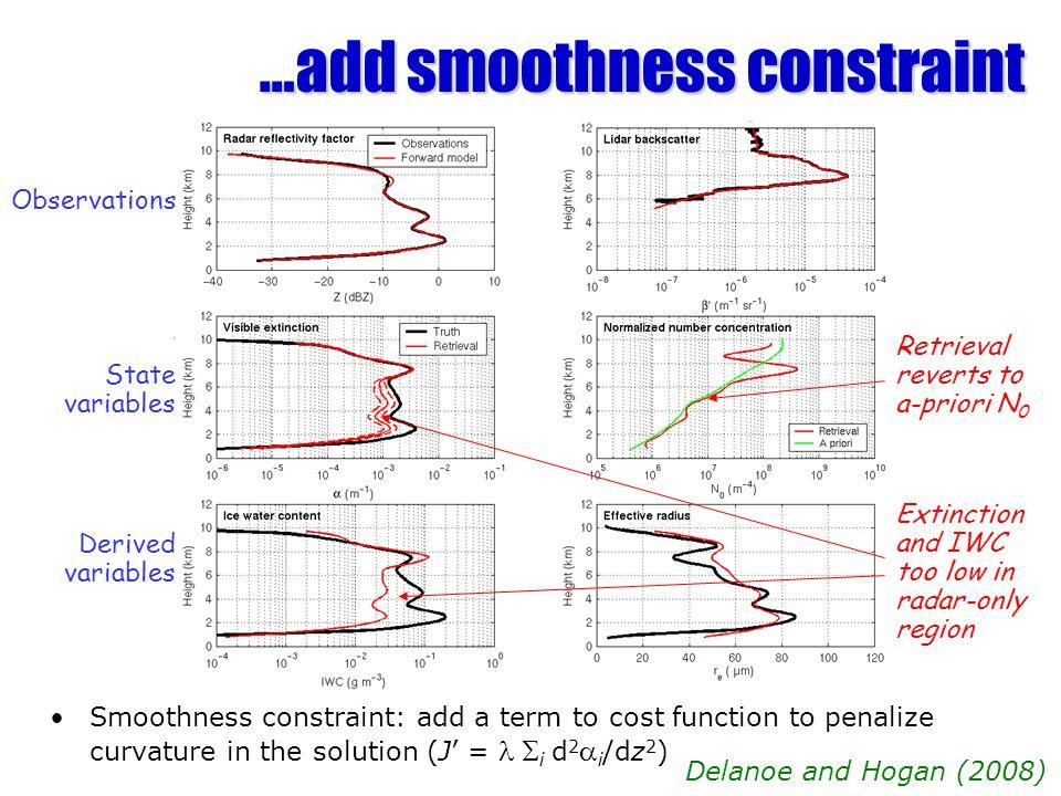 …add smoothness constraint