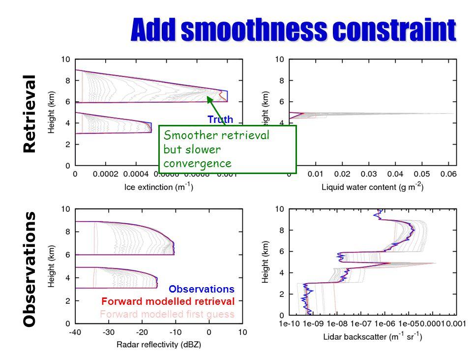 Add smoothness constraint