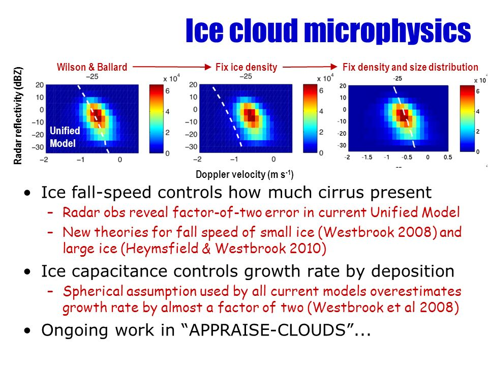 Ice cloud microphysics