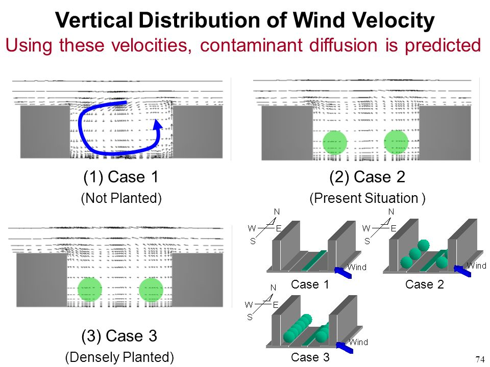 Vertical Distribution of Wind Velocity