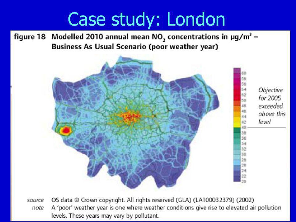 Case study: London