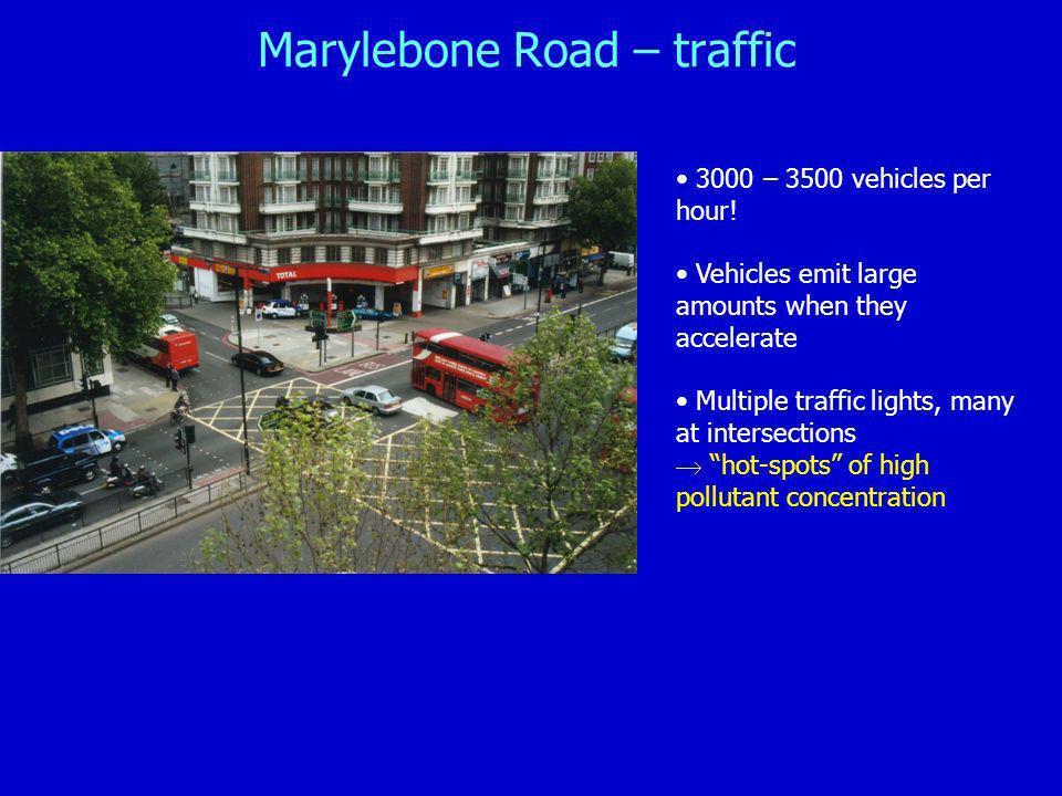 Marylebone Road – traffic