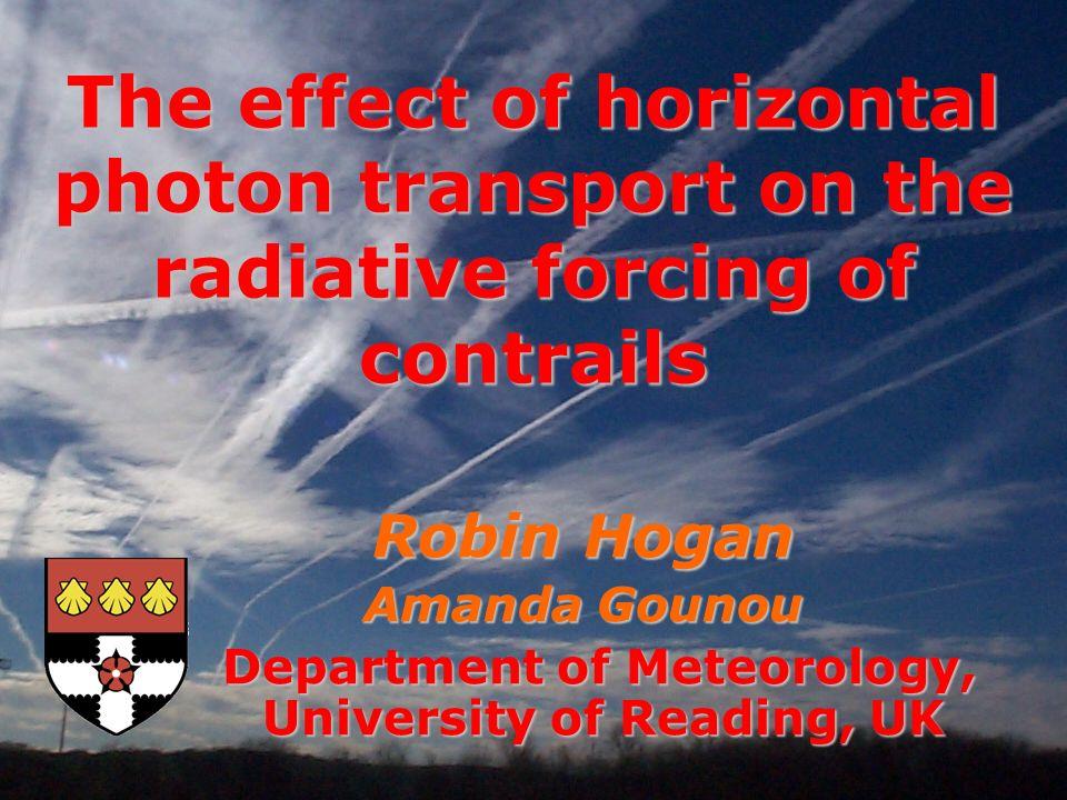 Department of Meteorology, University of Reading, UK