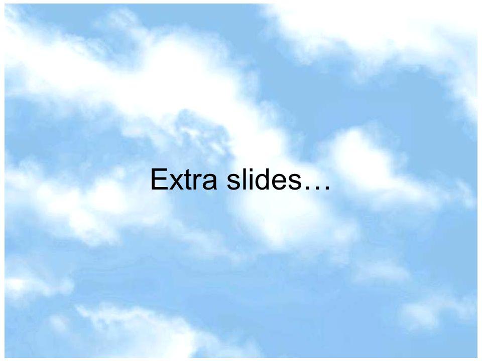 Extra slides…