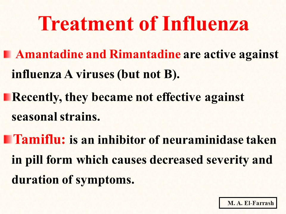 Treatment of Influenza