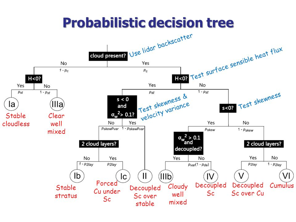 Probabilistic decision tree