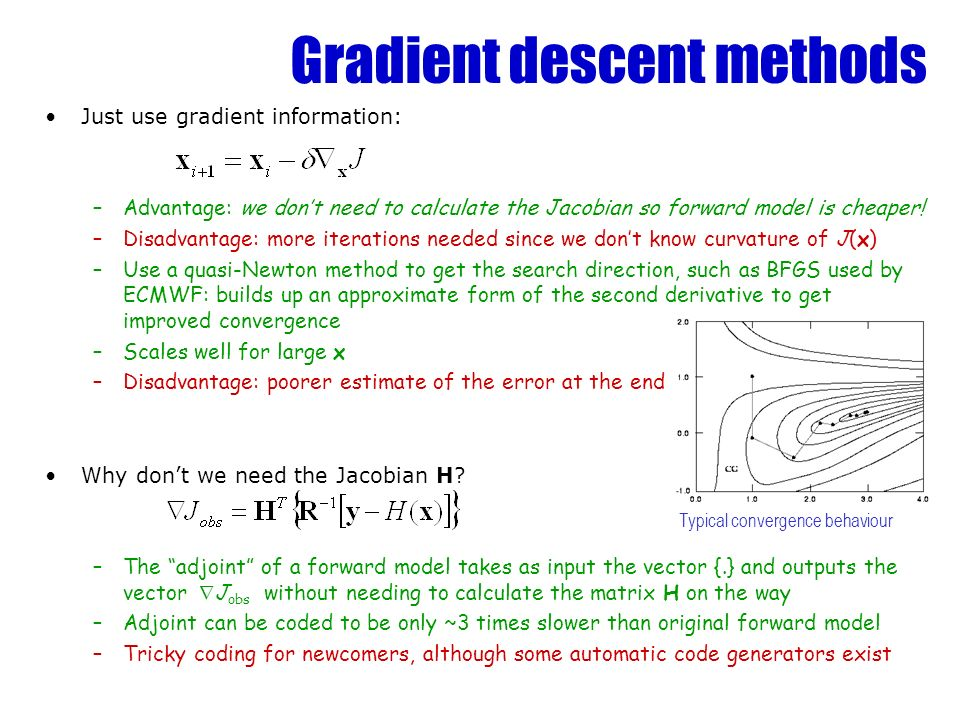 Gradient descent methods