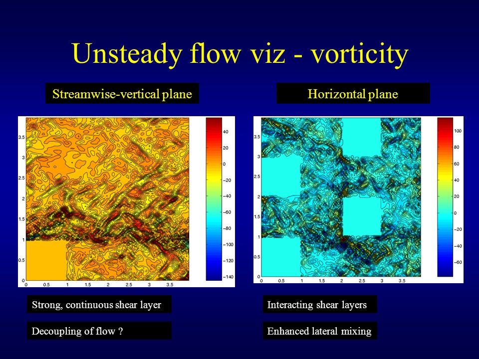 Unsteady flow viz - vorticity