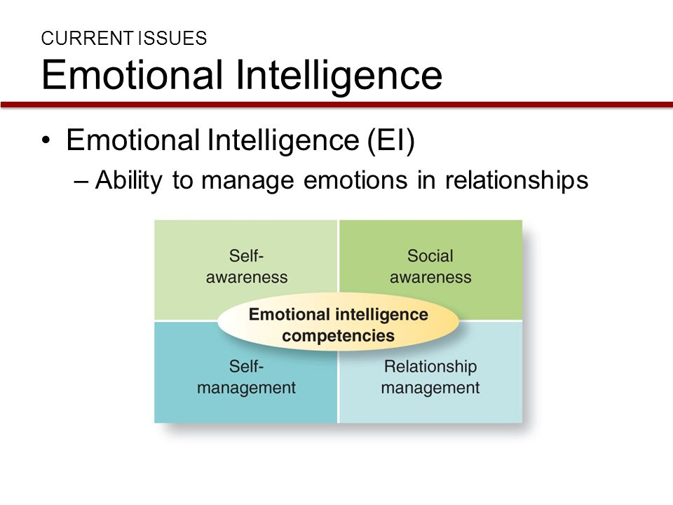 what are the implications of emotional intelligence for leaders Emotional intelligence (ei) refers to individual's ability to perceive, utilize,  ei  was found to be twice as important as iq or technical skills for leader  (eds),  emotional development and emotional intelligence: implications for educators ( pp.
