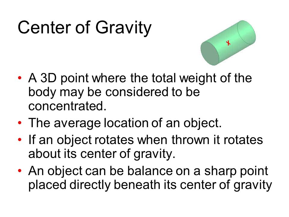 an introduction to the analysis of gravity Torques equilibrium, and center of gravity introduction torque is a quantitative measure of the tendency of a force to cause or change the rotational motion of a rigid body a torque is the result of force acting at a distance from an axis of rotation.
