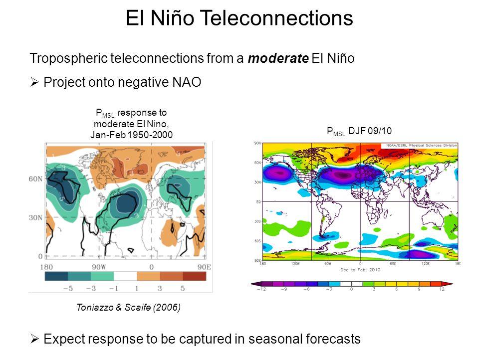 El Niño Teleconnections