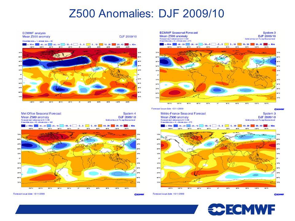 Z500 Anomalies: DJF 2009/10 24