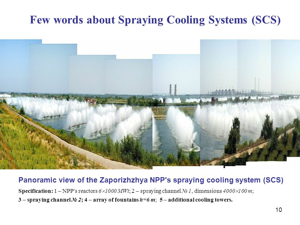 Few words about Spraying Cooling Systems (SCS)