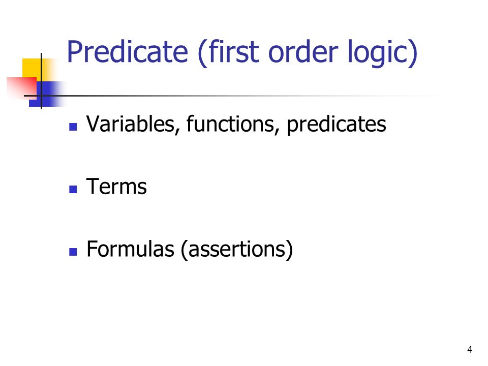 Predicate (first order logic)