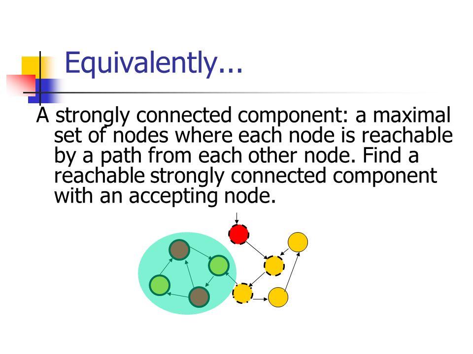 Equivalently...