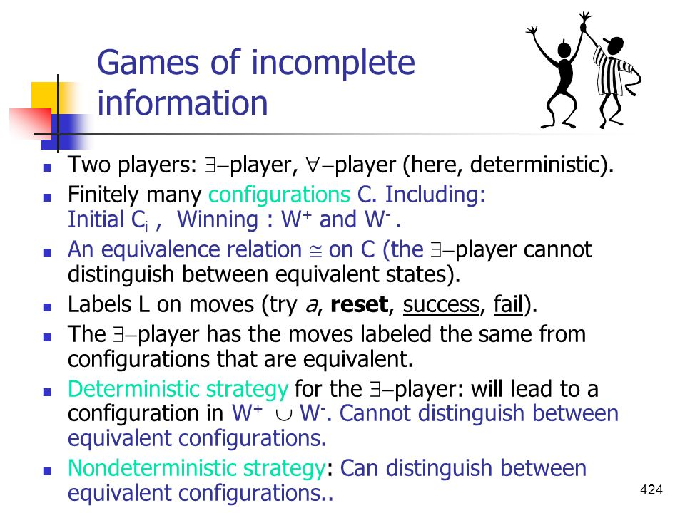Games of incomplete information