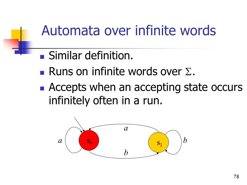 Automata over infinite words