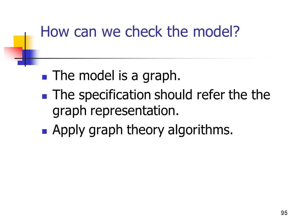How can we check the model