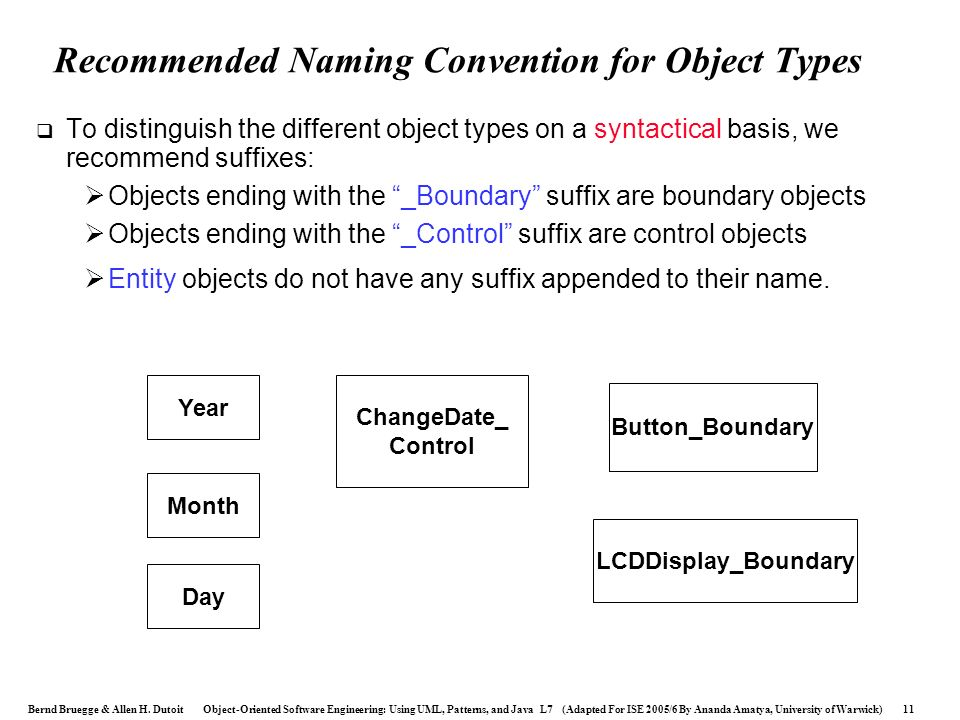Recommended Naming Convention for Object Types