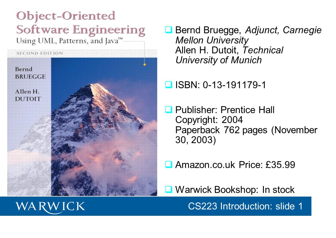 Warwick Bookshop: In stock