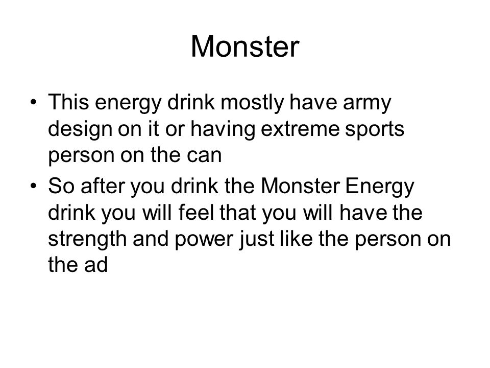 8 monster this energy