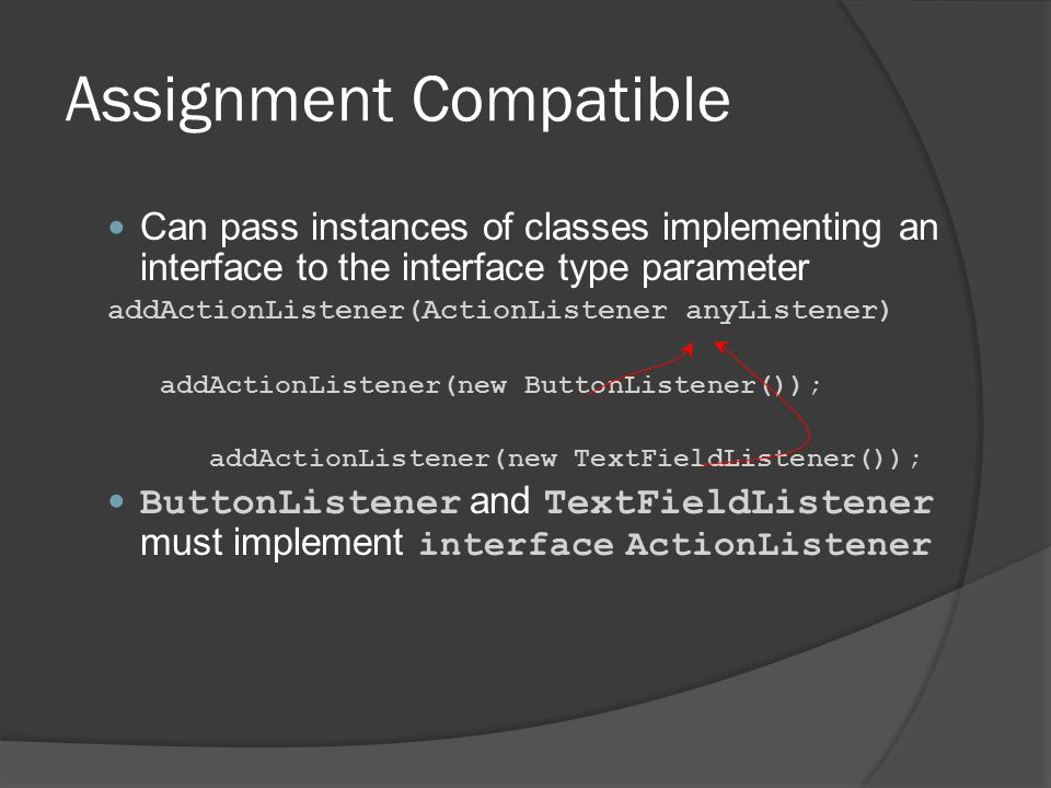 Assignment Compatible