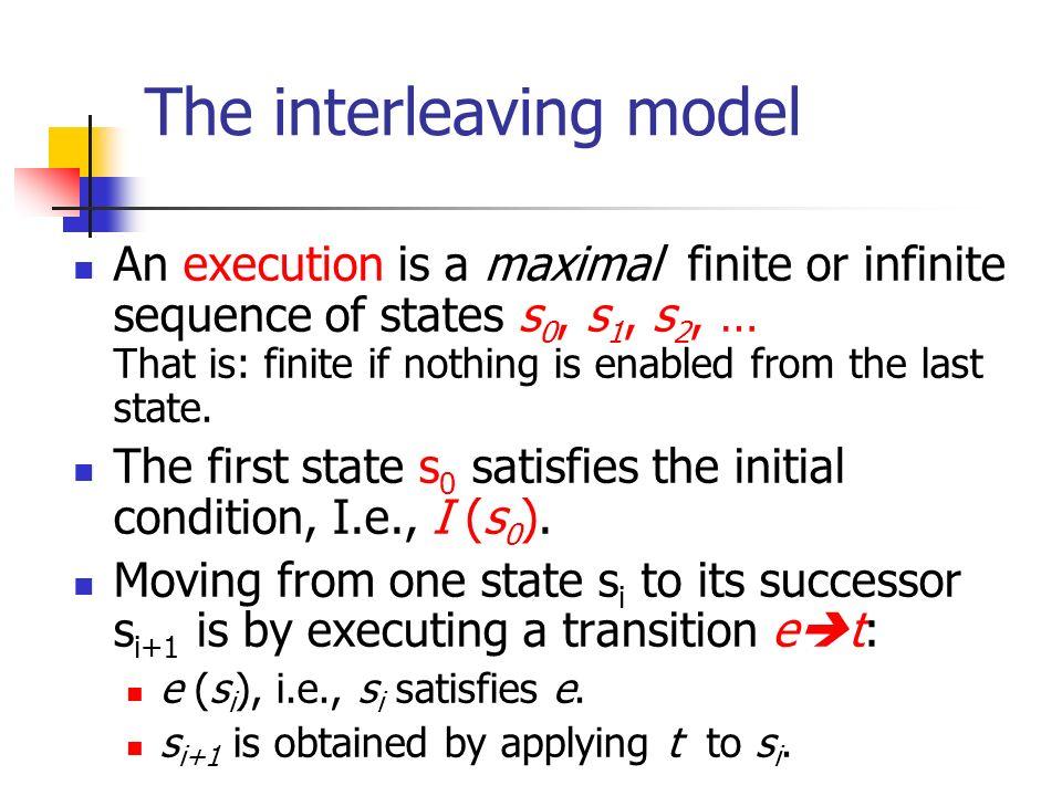 The interleaving model