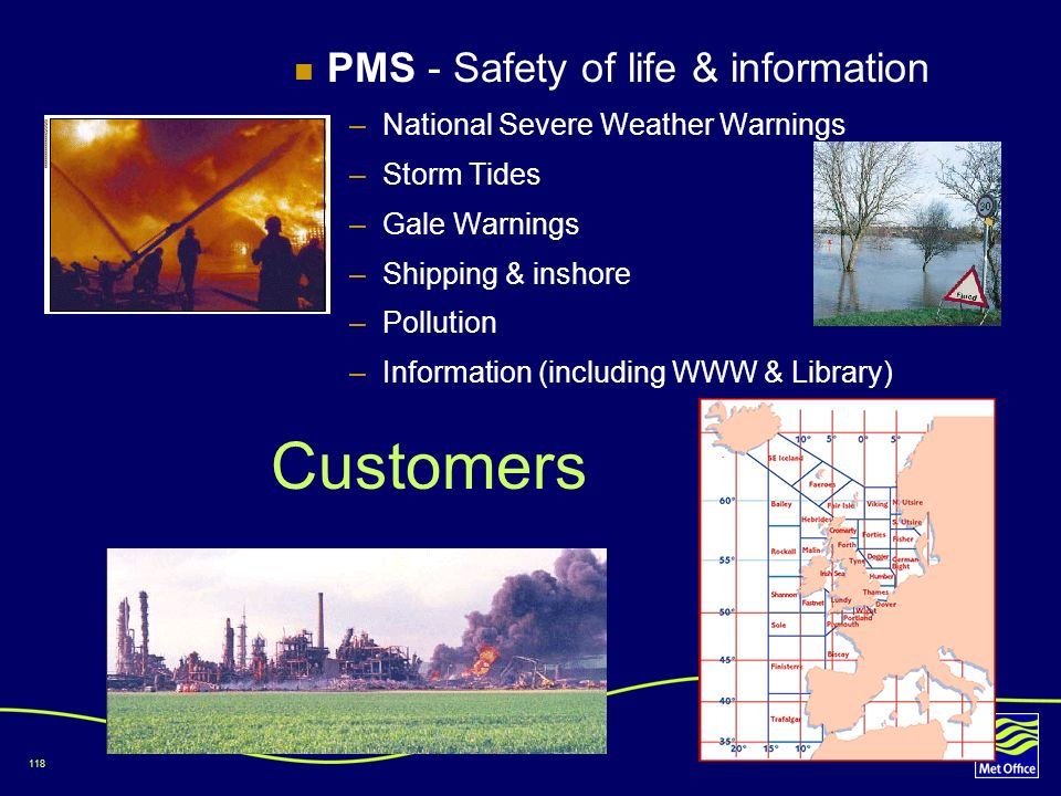 Customers PMS - Safety of life & information