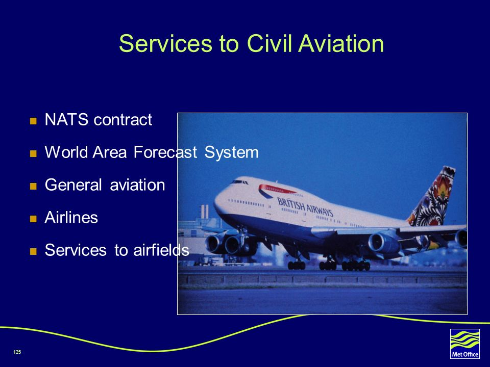 Services to Civil Aviation