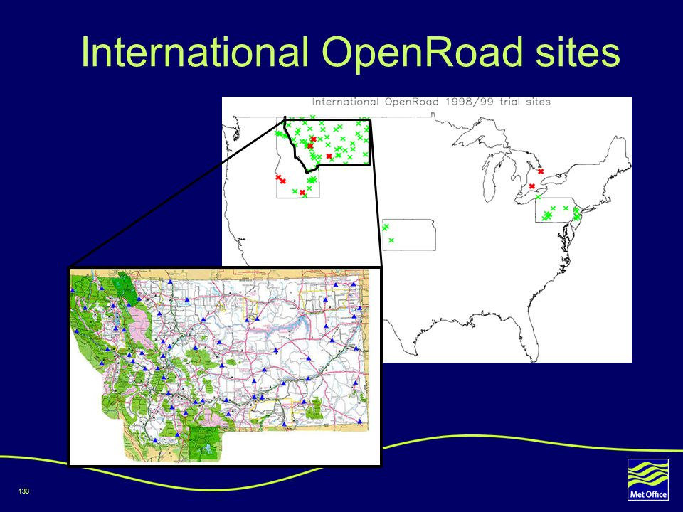 International OpenRoad sites