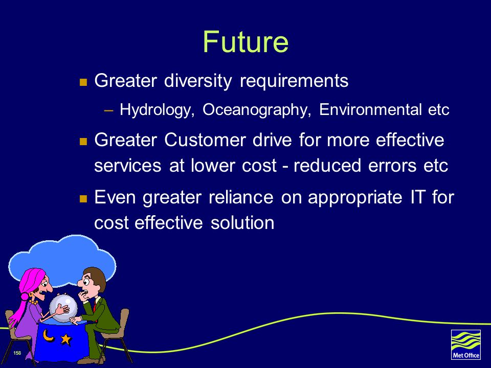 Future Greater diversity requirements