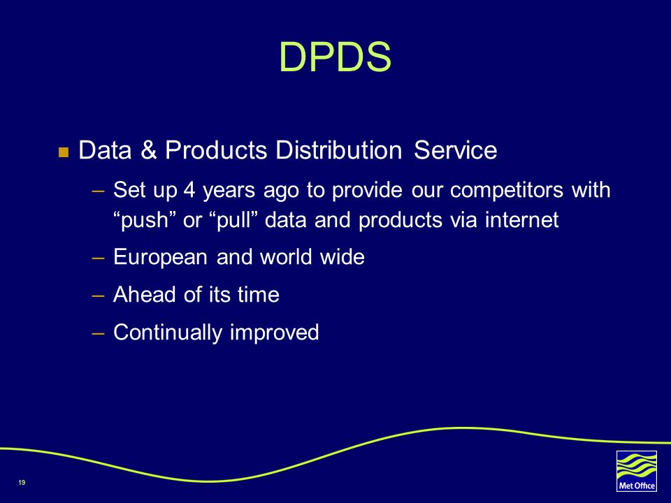 DPDS Data & Products Distribution Service