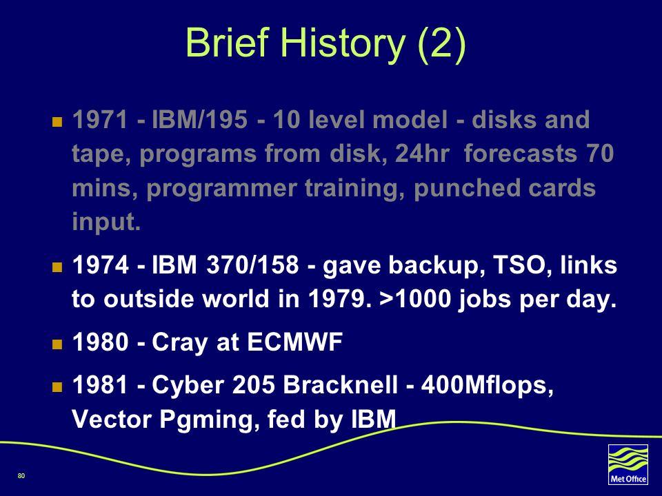Brief History (2)