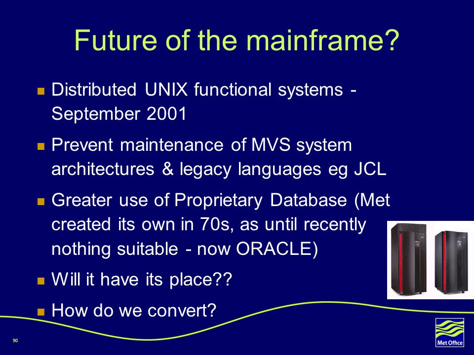 Future of the mainframe