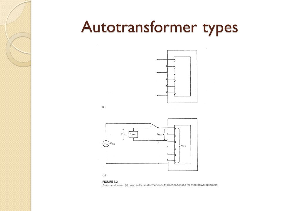 Contemporary Autotransformer Wiring Diagram Ideas Electrical And