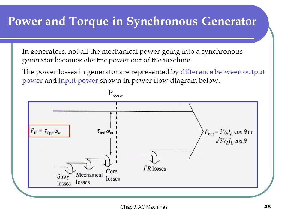 Emt 1134 electrical engineering technology ppt video online power and torque in synchronous generator cheapraybanclubmaster Gallery