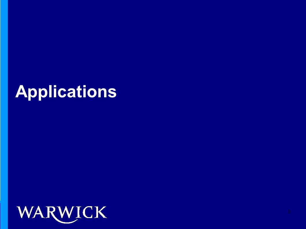 Applications 8
