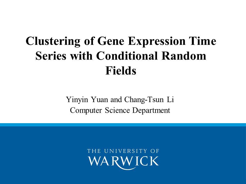 Yinyin Yuan and Chang-Tsun Li Computer Science Department