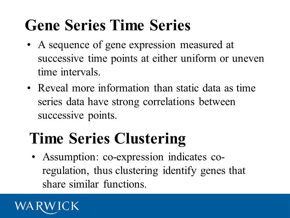 Gene Series Time Series