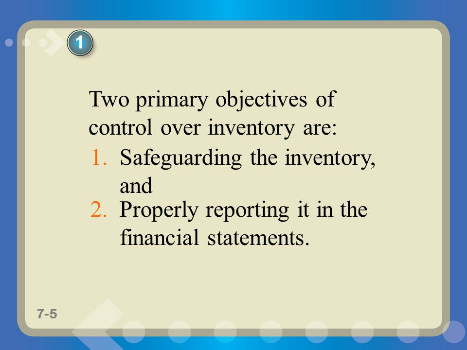 statement of objective of inventory system However, depending on the specific objectives, not every system is suitable   sales data and provide reliable statements about future demand.