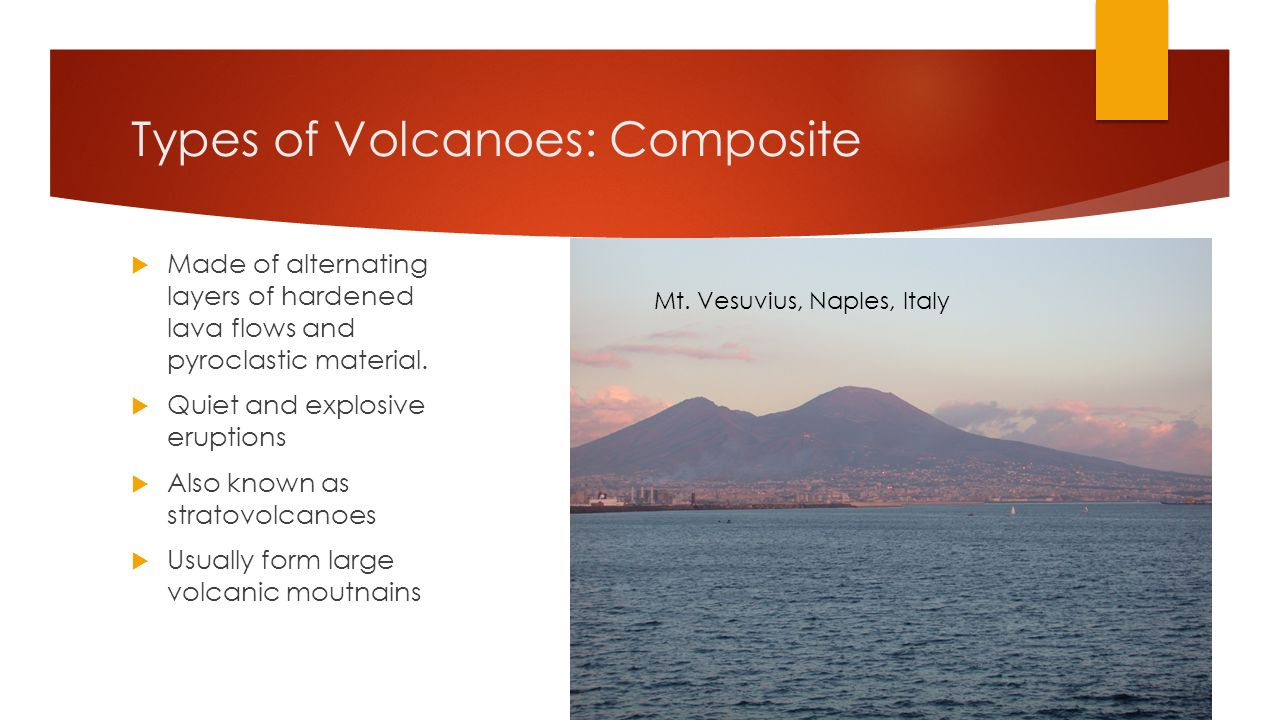 Types of Volcanoes: Composite