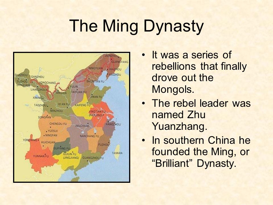 chapter 12 section 4 the ming dynasty ppt video online